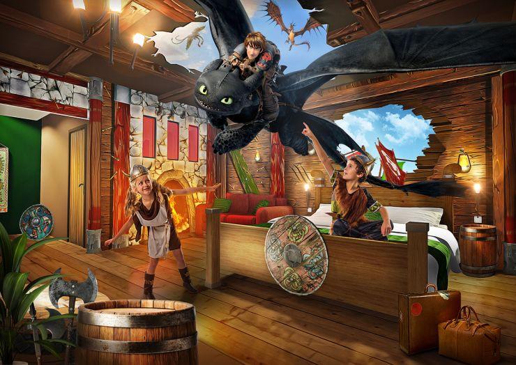 Foto: Heide Park Resort, Abenteuerhotel, Drachenzimmer