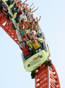 Foto: HolidayPark GmbH, Expedition GeForce - First Drop