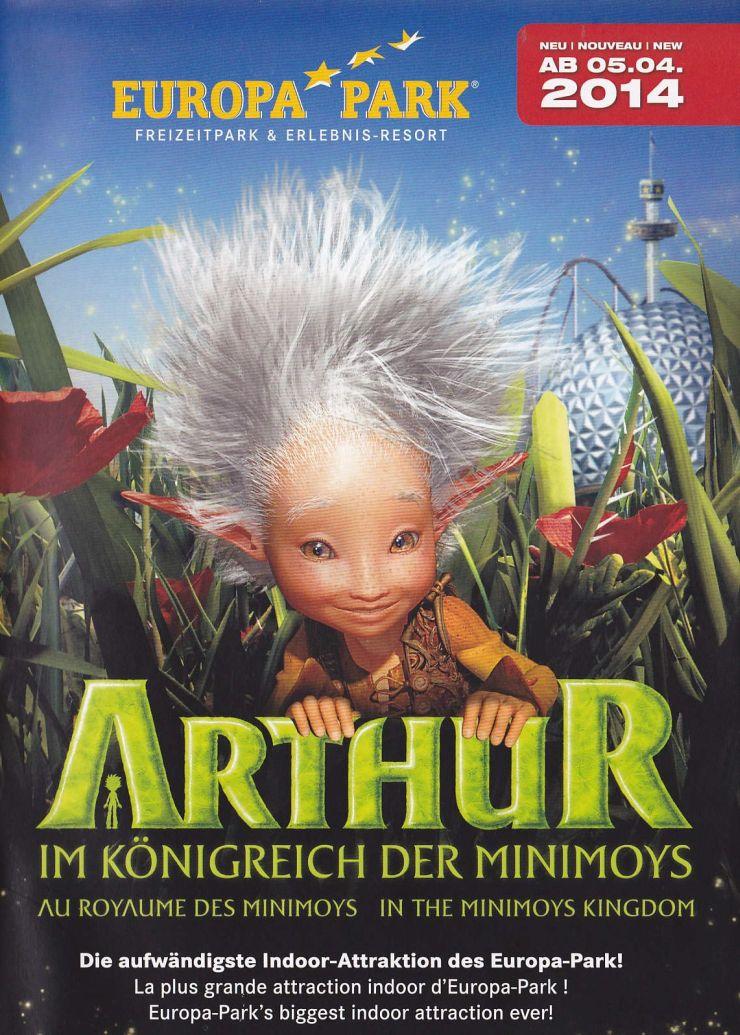 Foto: Europa-Park, Arthur im Königreich der Minimoys!