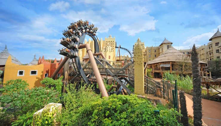 Foto: Phantasialand, Black Mamba