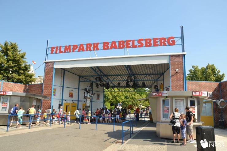 Foto: Freizeitparkinfos.de, Filmpark Babelsberg, Eingang