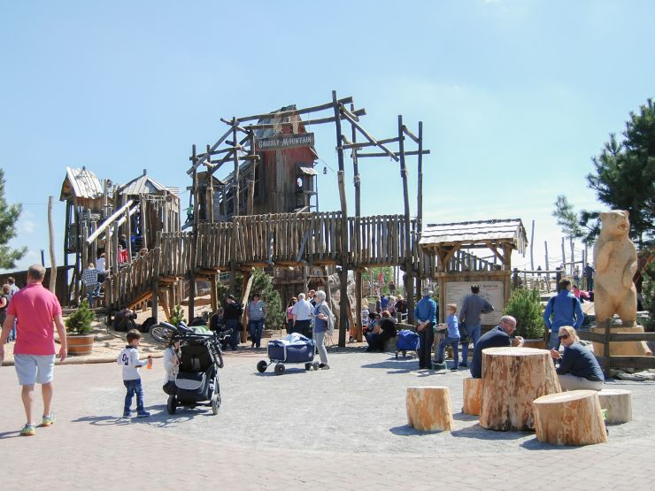 Foto: Jaderpark, Grizzly Mountain-Adventure, Eingang