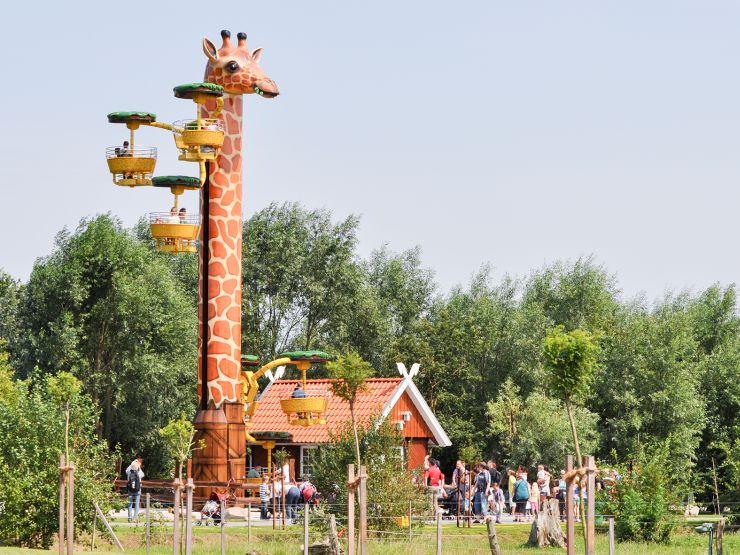 Foto: Jaderpark, Giraffenturm