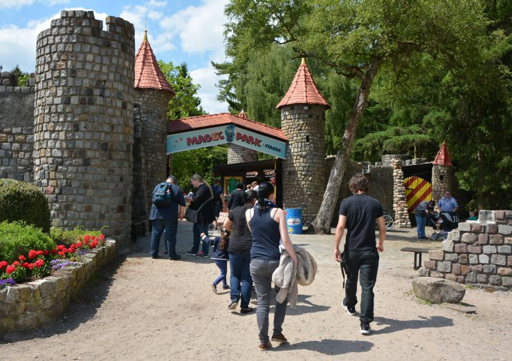 Foto: Magic Park Verden, Haupteingang Magic Park Verden