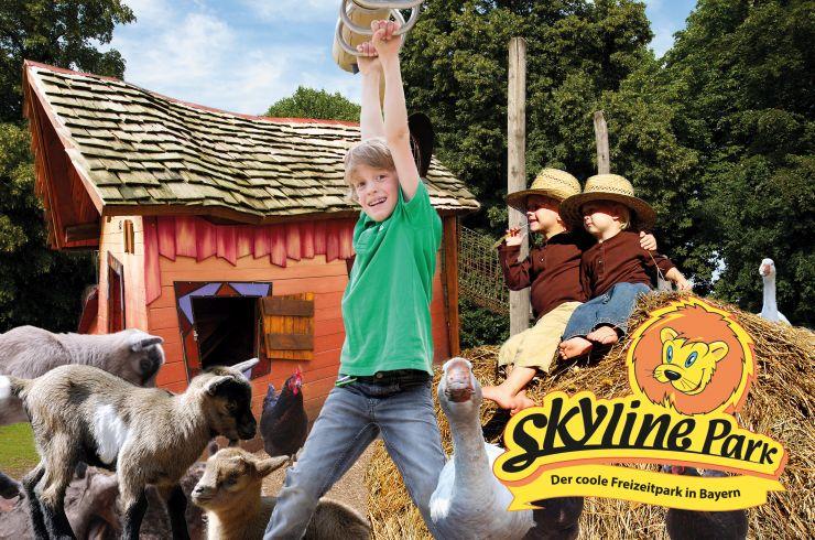 Foto: Skyline Park, Kids Farm - einzigartige Bauernhof-Spielinsel