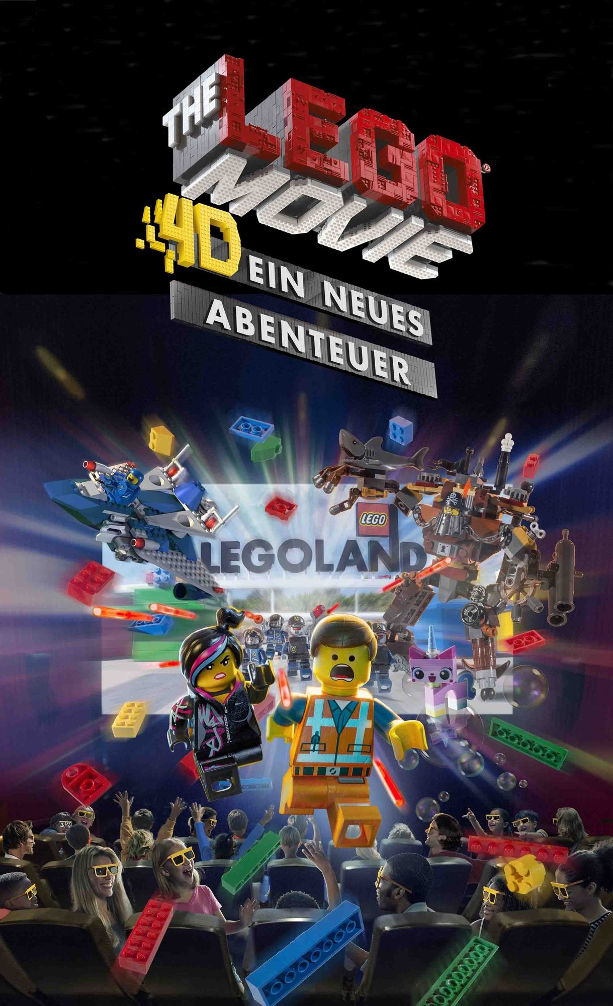 Foto: LEGOLAND Deutschland, The Lego Movie 4D