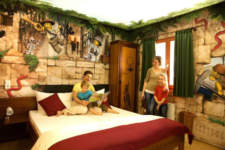 Foto: LEGOLAND Deutschland Resort, Feriendorf, Abenteuer Zimmer