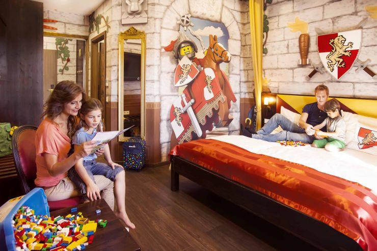 Foto: LEGOLAND Deutschland Resort, Feriendorf, Burgzimmer