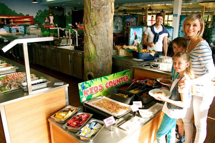 Foto: LEGOLAND Deutschland Resort, Feriendorf, Dschungel Buffet
