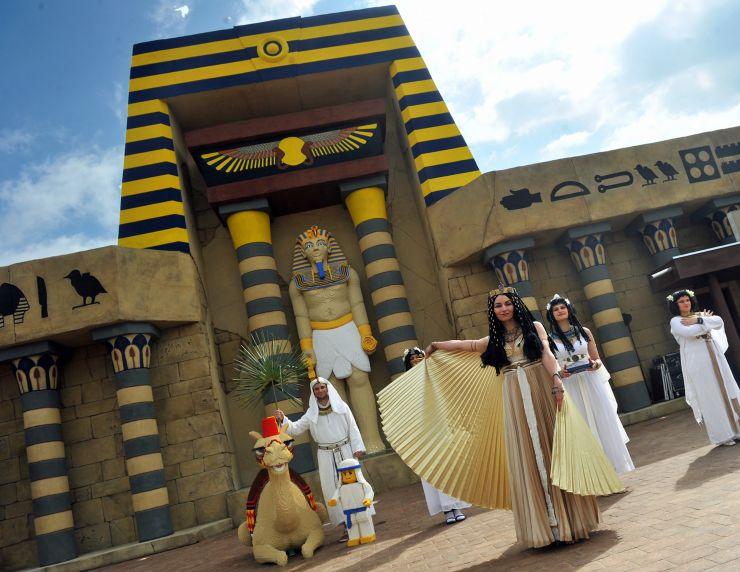 Foto: LEGOLAND Deutschland Resort, Land der Abenteuer, Reich der Pharaonen, Tempel X-pedition