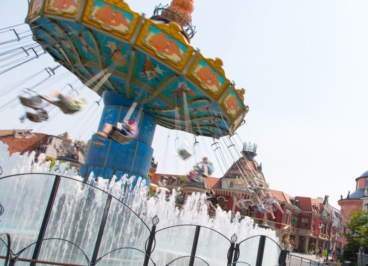 Wellenflug im Phantasialand