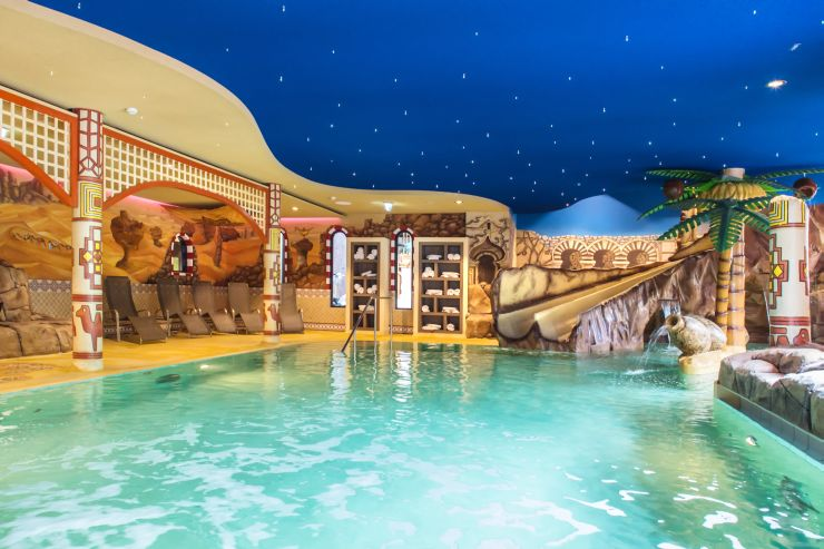 Foto: Heide Park Resort, Abenteuerhotel, Spaßbad