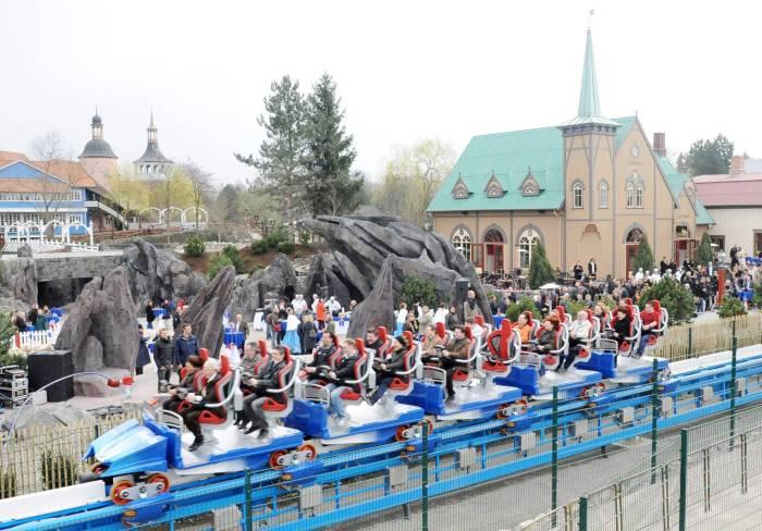 Foto: Mack Rides Achterbahn, Blue Fire Megacoaster im Europa-Park