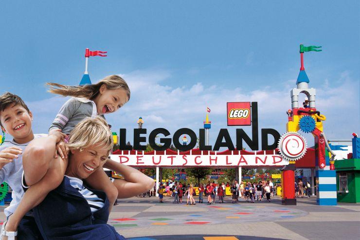 Foto: LEGOLAND Deutschland Resort, Eingang