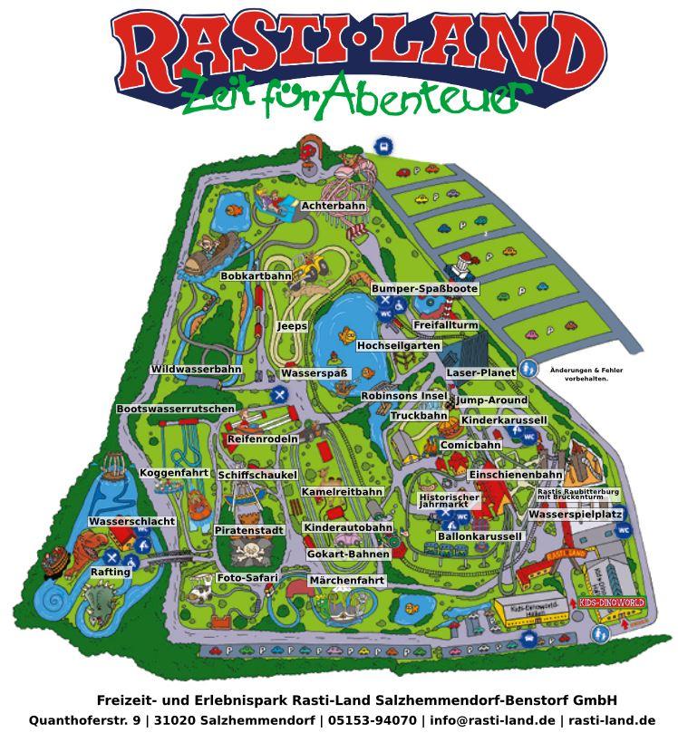 Parkplan Rasti-Land