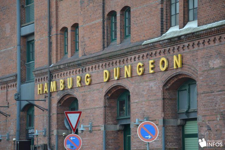 Foto: Freizeitparkinfos.de, Hamburg Dungeon Eingang