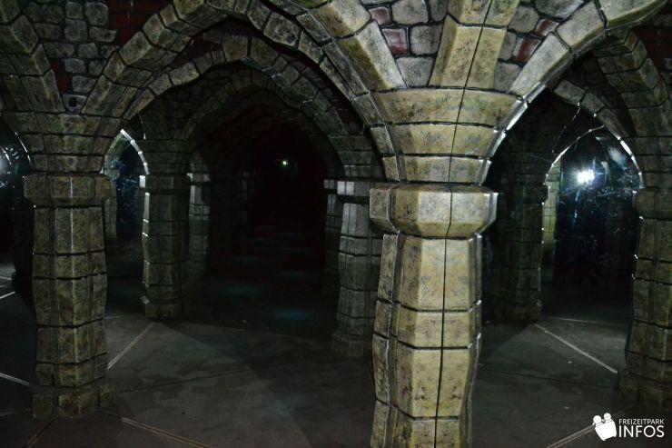 Foto: Freizeitparkinfos.de, Hamburg Dungeon, Das Labyrinth