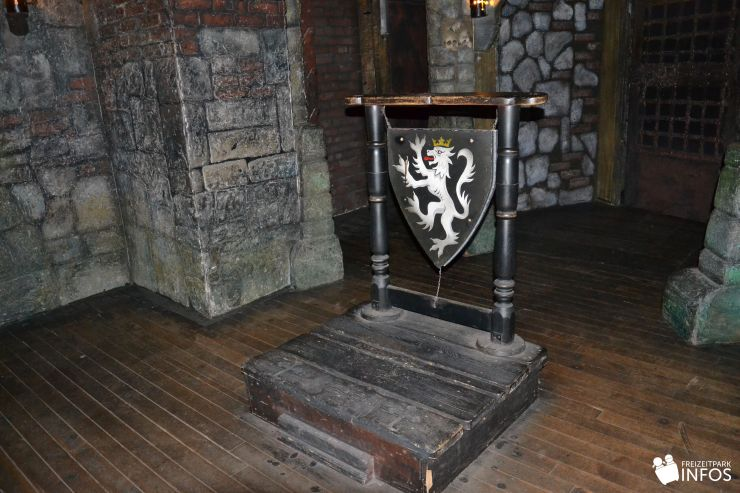 Foto: Freizeitparkinfos.de, Hamburg Dungeon, Die Inquisition