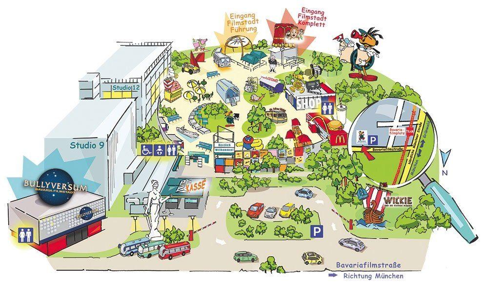 Parkplan Bavaria Filmstadt