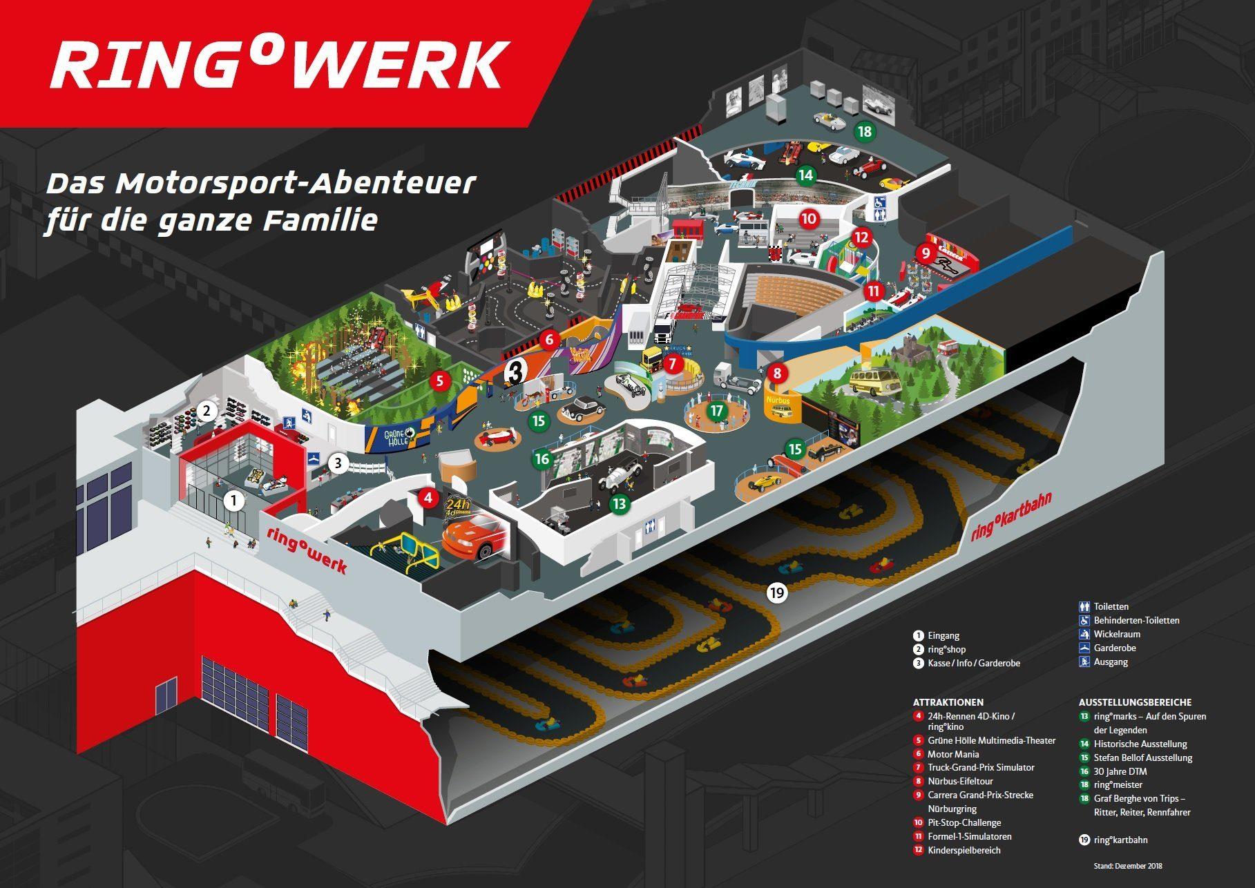 Parkplan ring°werk – Nürburgring
