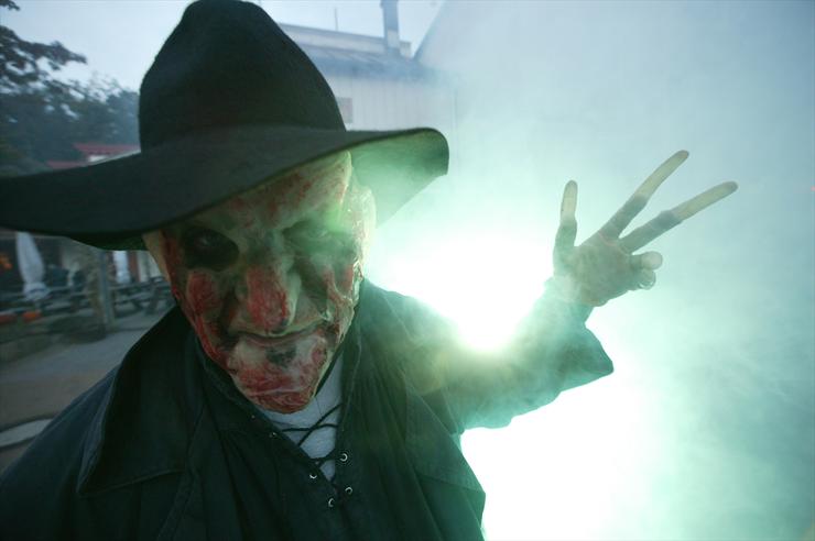 Foto: Movie Park, Halloween Monster beim HHF