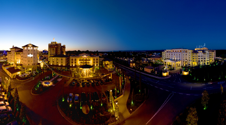 Foto: Europa-Park, Resort - Night