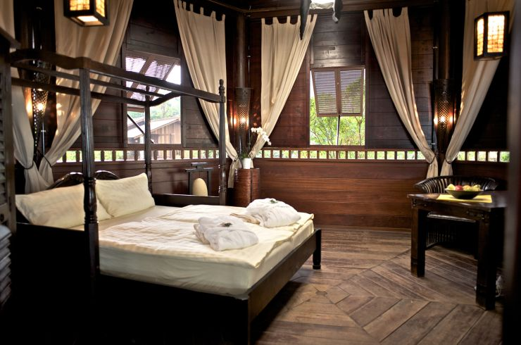 Foto: Tropical Islands, BALI-PAVILLON Abenteuer-Lodge