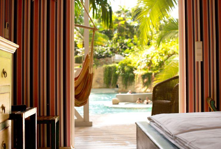 Foto: Tropical Islands, BALI-LAGUNE Abenteuer-Lodge