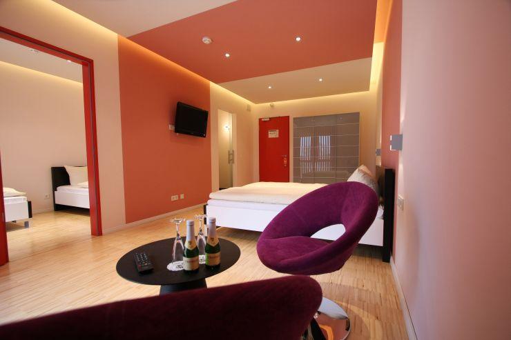 Foto: Tropical Islands, OSTFLÜGEL Standard-Zimmer für 4 Personen