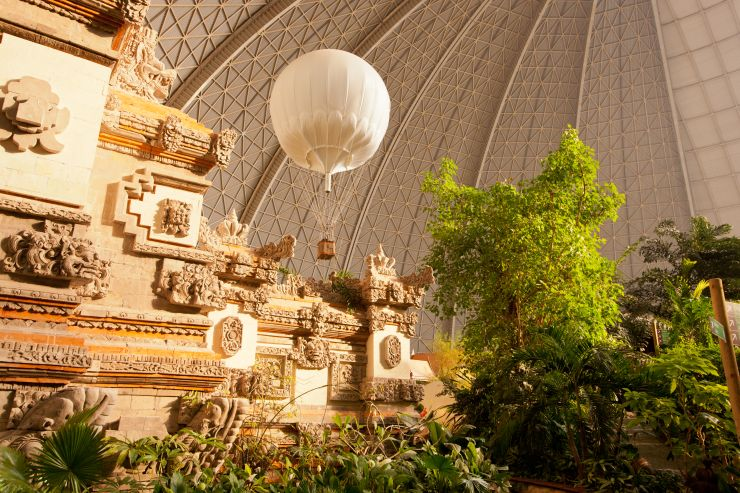 Foto: Tropical Islands, Bali-Tor