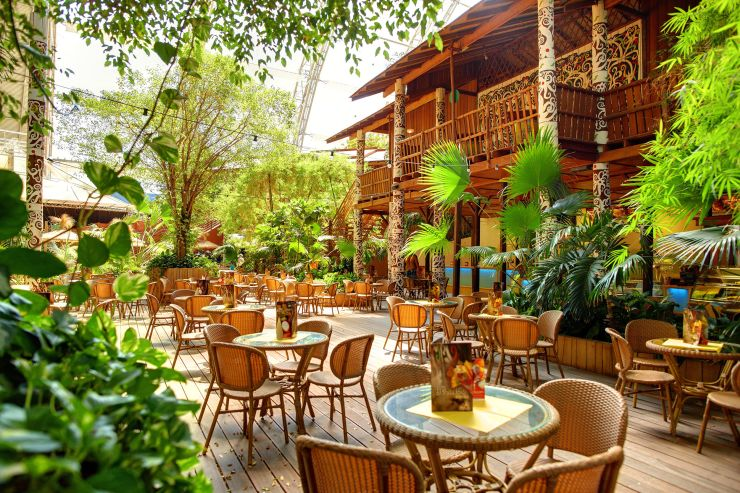 Foto: Tropical Islands, Borneo-Langhaus