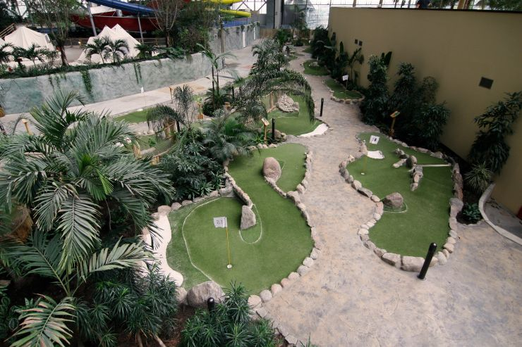 Foto: Tropical Islands, Die Minigolf-Anlage