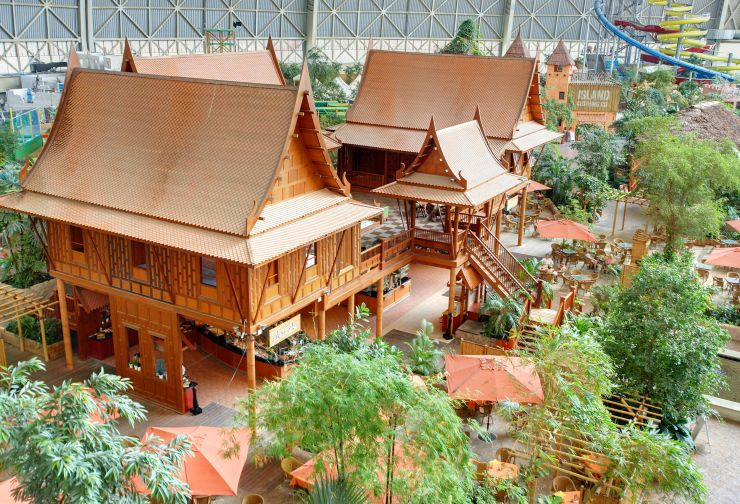 Foto: Tropical Islands, Thai-Haus