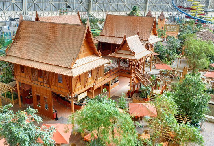 Foto: Tropical Islands, Thai-Haus