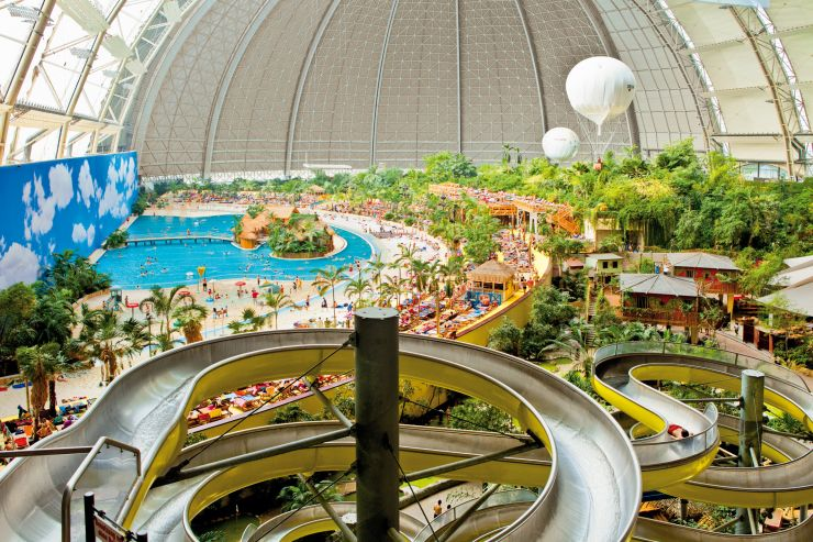 Foto: Tropical Islands, Aussicht vom Rutschenturm