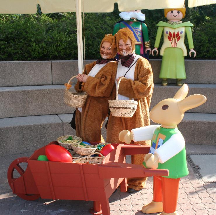 Foto: PLAYMOBIL-FunPark, Die Osterhasen kommen