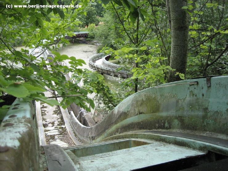 Foto: Spreepark Plänterwald, Ehemalige Wildwasserbahn