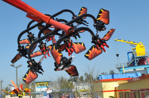 Foto: LEGOLAND® Deutschland, Flying Ninjago