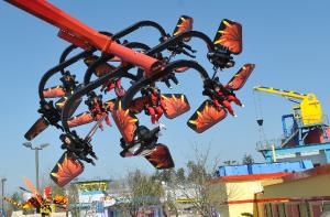 Foto: LEGOLAND® Deutschland, Flying Ninjago