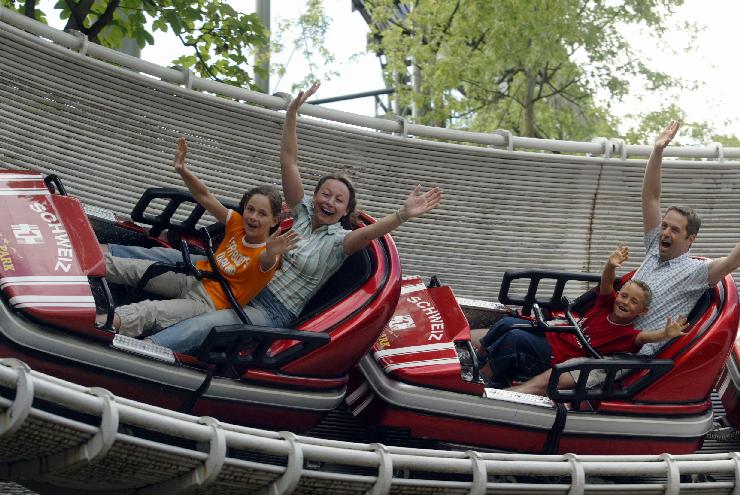 Foto: Europa-Park, Schweizer Bobbahn