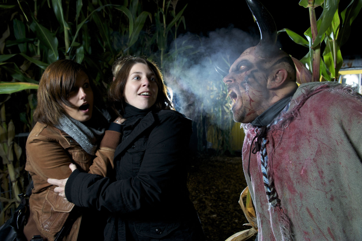 """Foto: Europa-Park, Monster-Attacke bei den """"Horror Nights starring Marc Terenzi"""""""