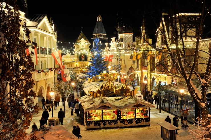 Fotot: Europa-Park, Europa-Park im Winter