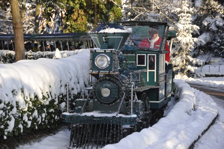 Europa-Park im Winter