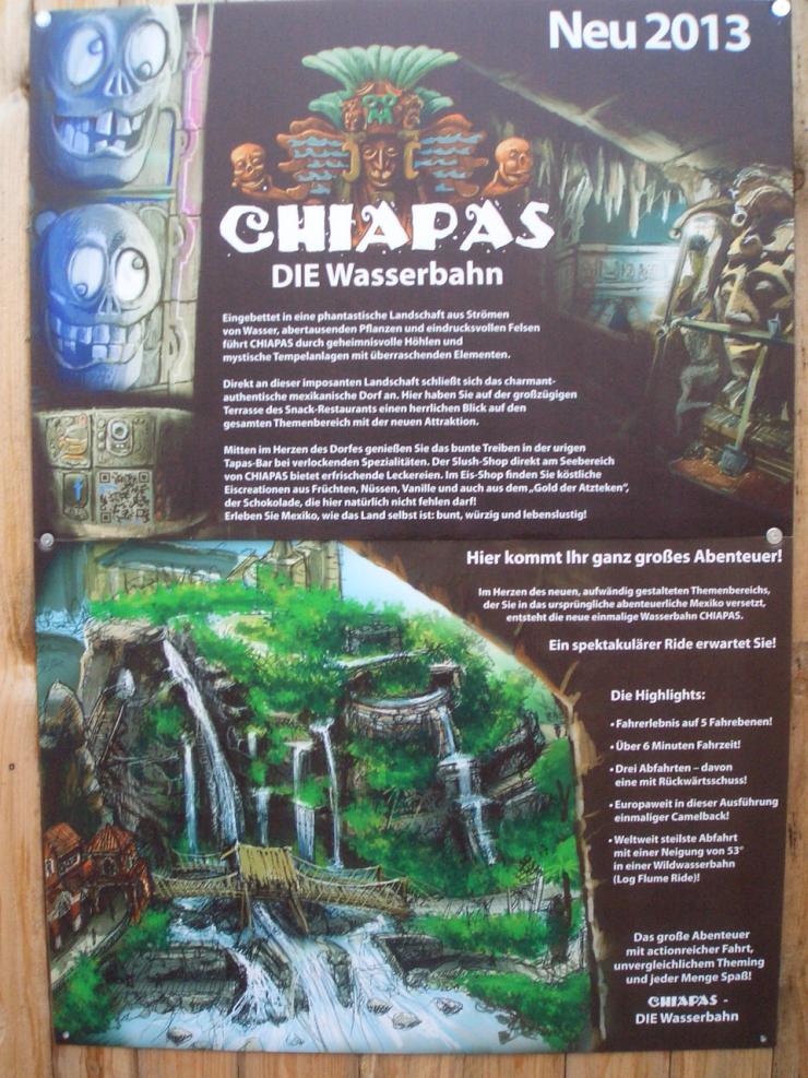 Eröffnung Von Chiapas Die Wasserbahn In Der Saison 2014