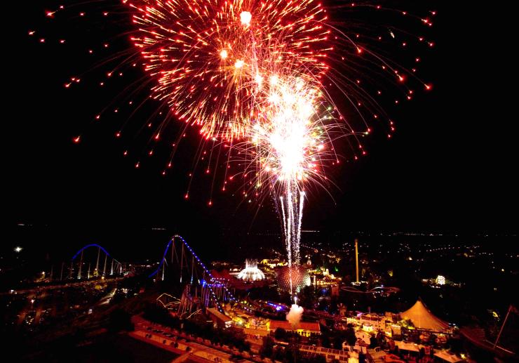 Foto: Europa-Park, Silvester feiern im Europa-Park Dome