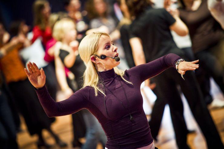 "Foto: Europa-Park, ""Let's Dance""-Gewinnerin Isabel Edvardsson"