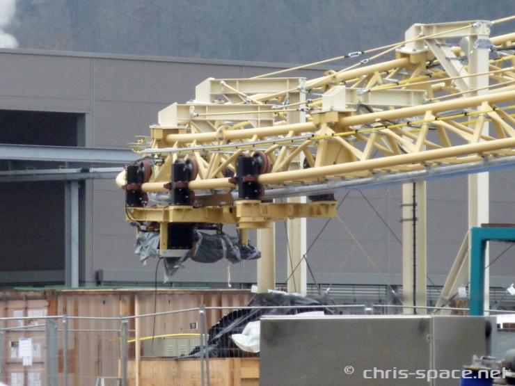 Foto: Christian Küsters, Testanlage der neuen Großattraktion