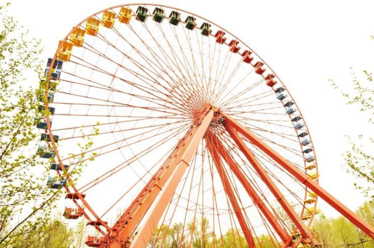 Foto: Berliner Spreepark, Spuk unterm Riesenrad