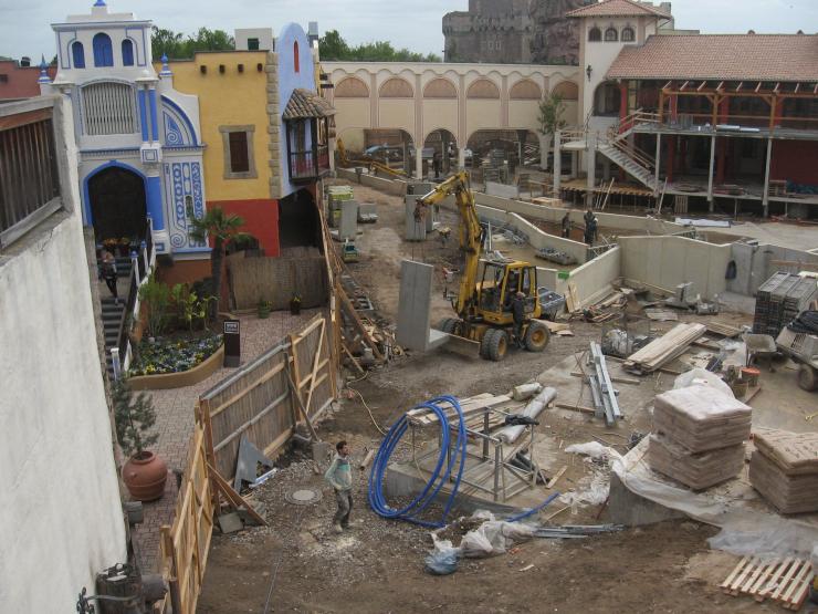 Foto: Geert Janssen, Bau Chiapas Mai 2013