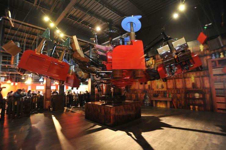 Foto: LEGOLAND Discovery Centre Oberhausen, Merlins Zauberschüler